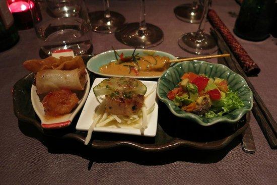 Khun Juk Oriental: 6 small starters