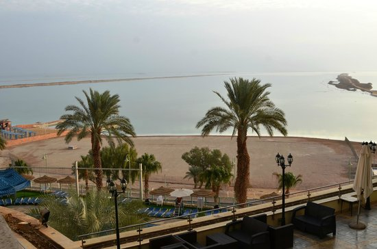 Leonardo Plaza Hotel Dead Sea : вид из номера