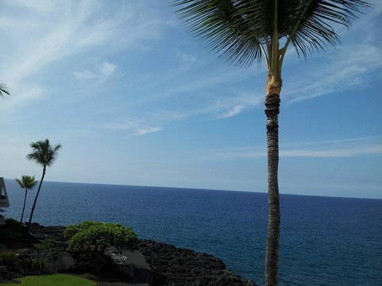 Sheraton Kona Resort & Spa at Keauhou Bay: Beautiful view down the coast from our room.