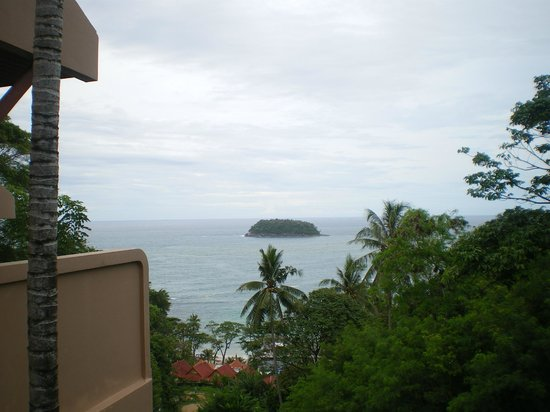 Andaman Cannacia Resort: Our view from the rooms