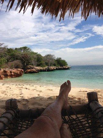 Bongoyo Island: Just me and the island.