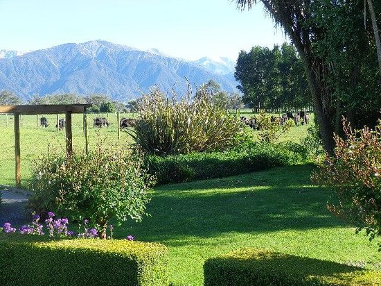 Fyffe Country Lodge: View from the garden