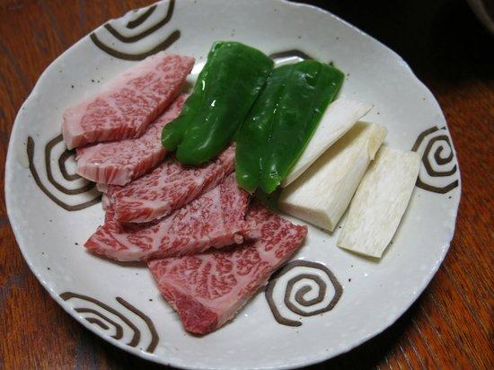 Iwaki: Local waygu beef (for grill)