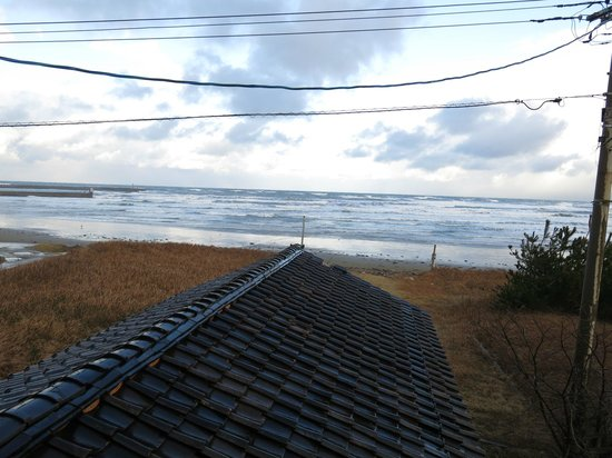 Iwaki: Seaview from room
