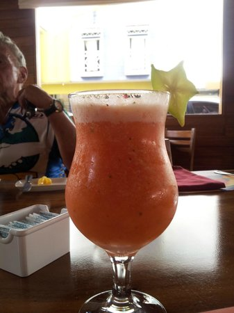Restaurante Don Rufino: The welcome drink