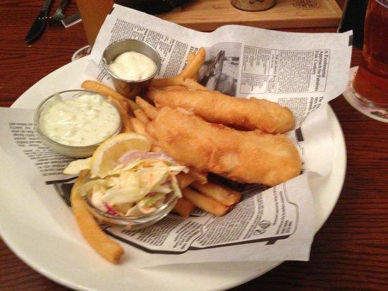 Dubh Linn Gate Irish Pub : Fish n Chips