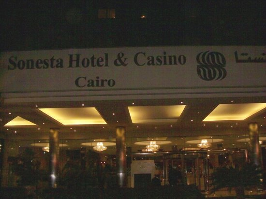 Sonesta Hotel, Tower & Casino Cairo: Hotel entrance