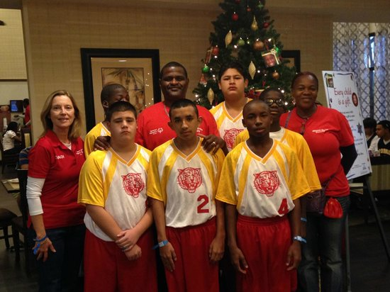 Hampton Inn & Suites Clermont: Campbell Drive Middle School Wildcats at Hampton Inn, Clermont