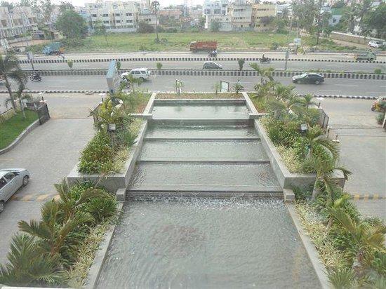 Park Plaza Chennai Omr: morning view....
