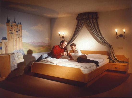 Waldpension Nebelstein: Das Turmzimmer