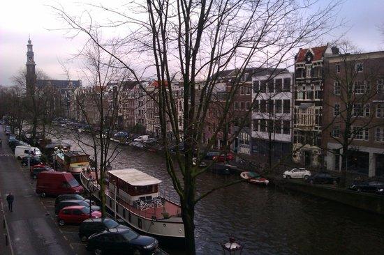 Bij Tijn op de Gracht: uitzicht Westertoren