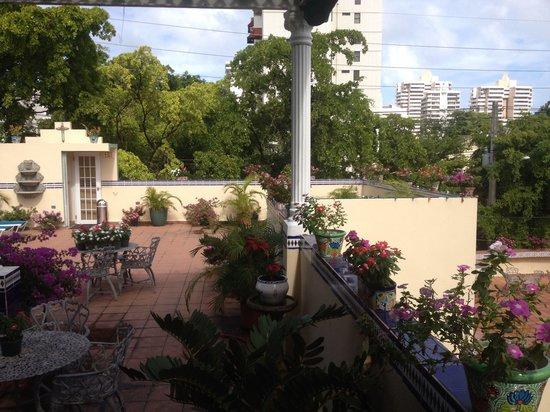 Hotel Iberia: Terrace