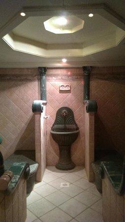 Movenpick Resort & Spa Dead Sea: sauna at the zara spa