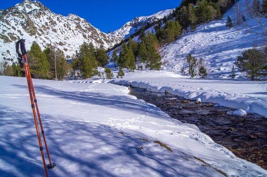 Valle de Incles: acercándonos al río Incles