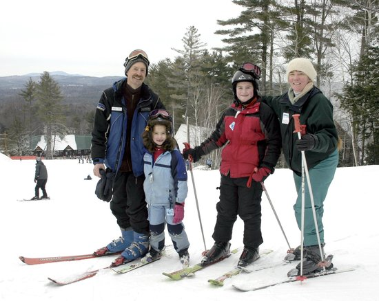 Henniker House: Phil instructs at Pats Peak - it's all about skiing with us in the winter