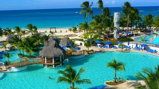 Occidental Caribe: pileta secundaria y pileta de niños