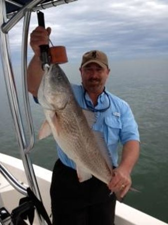 Enterprise Fishing Charters: 20 lbs Red Dec.15,2013