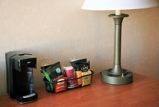 New Victorian Inn & Suites: In-Room Coffee in Each Room
