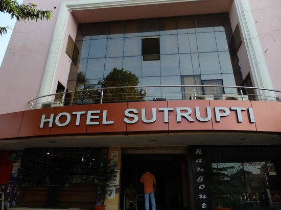 Hotel The Sutrupti: The hotel front