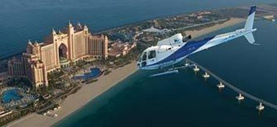 Atlantis, The Palm: helikopterden dünya adası