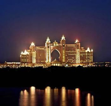 Atlantis, The Palm : bu manzarayı görmeniz lazım