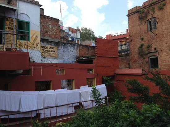 Ganpati Guest House : Escuela de música
