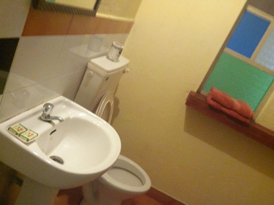 Adams Wood House : wash room