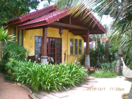 Zazen Boutique Resort & Spa: un bungalow bord de mer