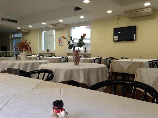 Hotel Marinoni : Sala colazioni e Ristorante.