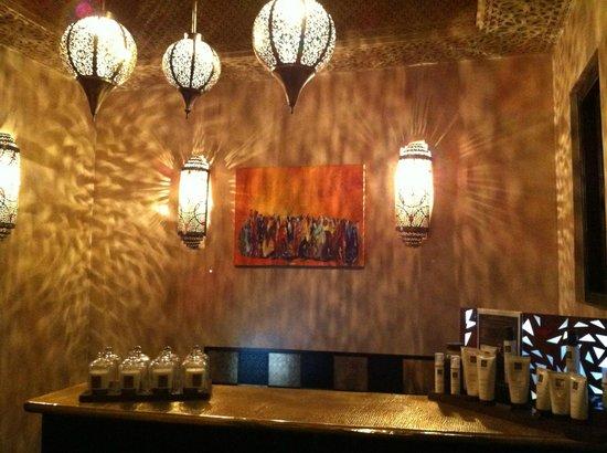 Les Bains de Marrakech : Uscita