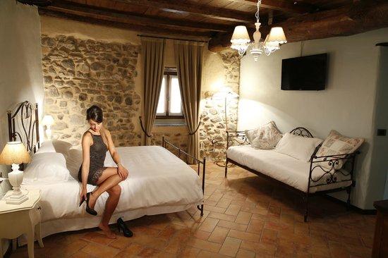 Locanda Osteria Marascia : Family room