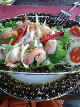 John's Garden : spicy shrimp salad