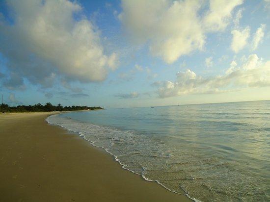 Resort La Torre: praia de mutá
