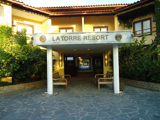 Resort La Torre: Entrada do Resort