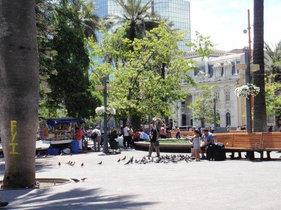 Plaza de Armas: Vista  de la  plaza