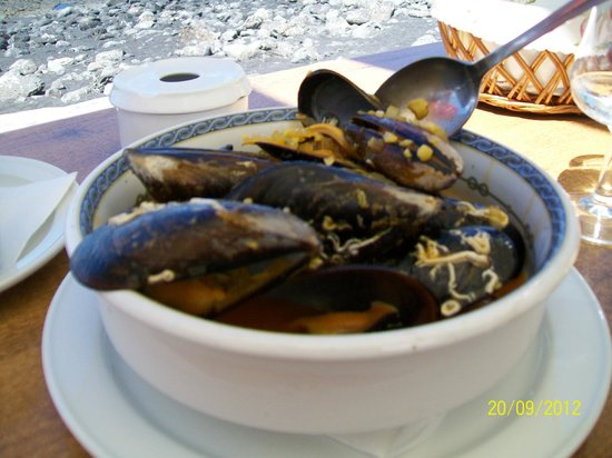 Restaurante La Gamba Loca : pepata di cozze