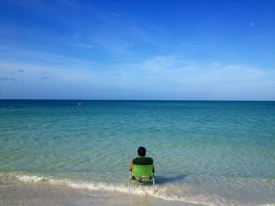 Lido Beach: Had to enjoy a few more minutes before I headed back home.