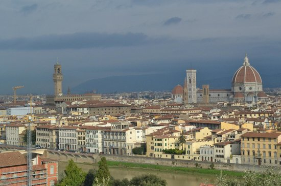 Shore Excursions in Italy : Florence cityscape