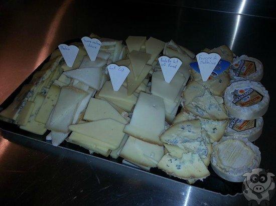 365 Fromages: Plateau raclette 6 variétés