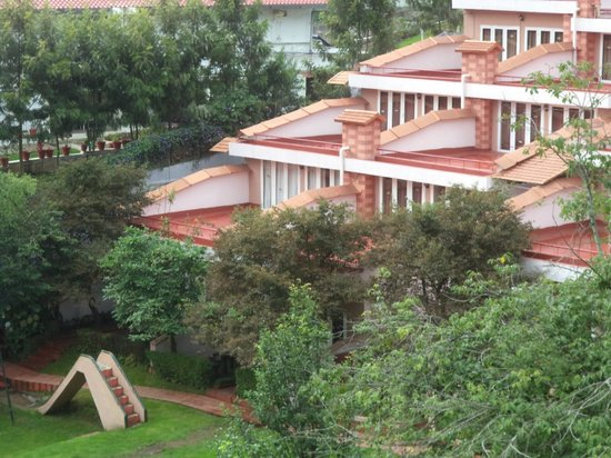 Kodai Resort: view from our room