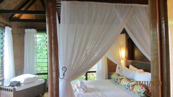 Matangi Private Island Resort : Treehouse bedroom