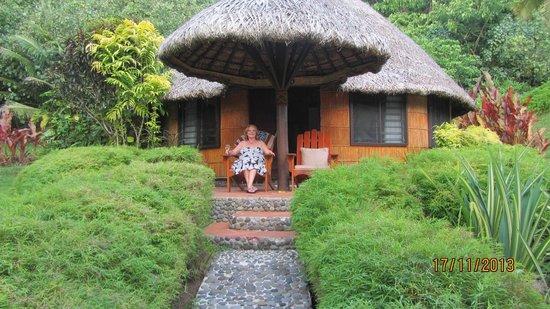 Matangi Private Island Resort : Beach Bure