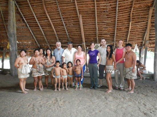 San Pedro Lodge: visita tribu Bora