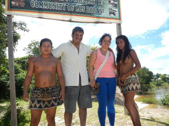 San Pedro Lodge: visita a tribu aborigen Bora
