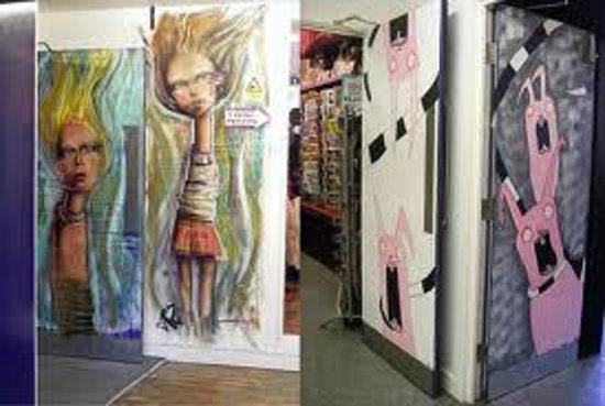 Afflecks: Internal Art Work