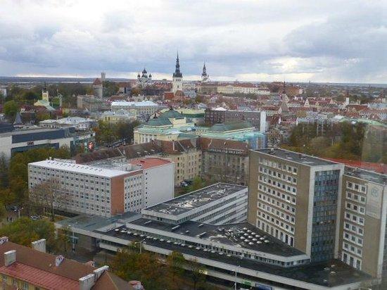 Radisson Blu Sky Hotel : View from the window