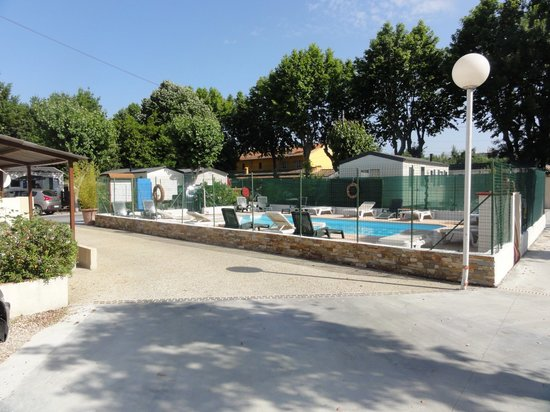 Camping Douce France: piscine