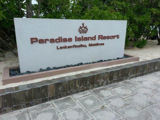 Paradise Island Resort & Spa: near the alighting area
