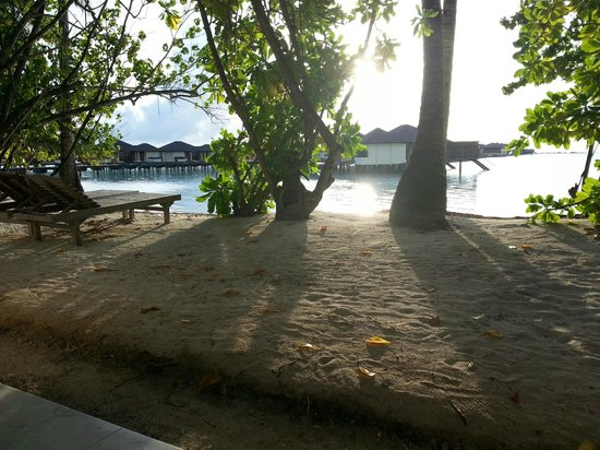 Paradise Island Resort & Spa: water villas can be seen