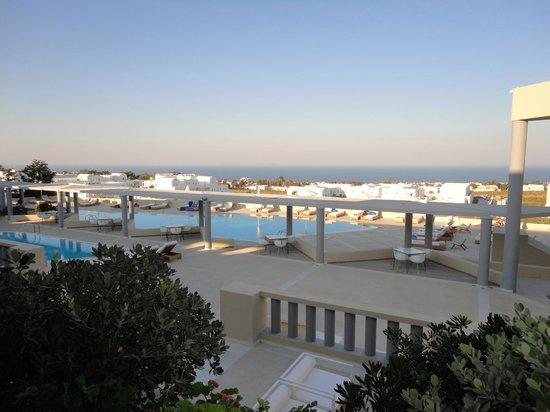 Majestic Hotel : área da piscina